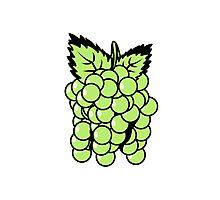 Grapes fruit sweet fruit Photographic Print