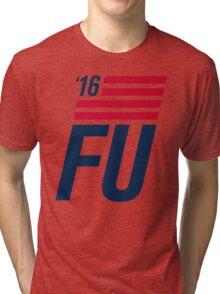 FU '16 banner Tri-blend T-Shirt