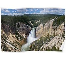 The Lower Falls at Yellowstone Poster