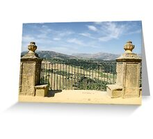 Ronda - Spain - Landscape Greeting Card