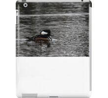 Hooded Merganser iPad Case/Skin