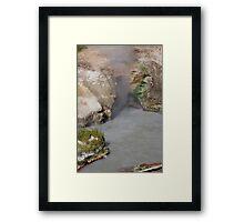 Dragons Breath Cave at Yellowstone Framed Print