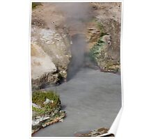 Dragons Breath Cave at Yellowstone Poster