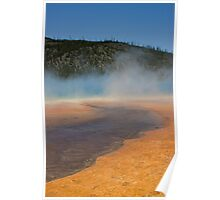 Midway Geyser Basin at Yellowstone Poster