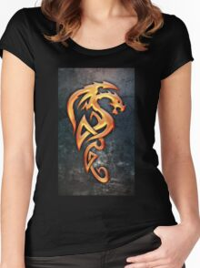 Golden Dragon Women's Fitted Scoop T-Shirt
