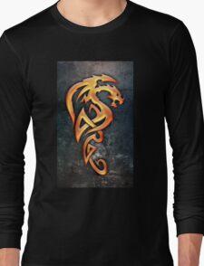 Golden Dragon Long Sleeve T-Shirt