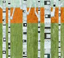 Spring Birches by Michelle Calkins