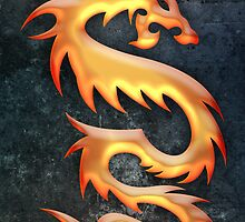 Golden Dragon by Bethany-Bailey