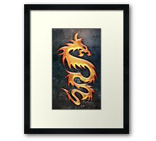 Golden Dragon Framed Print