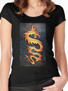 Golden Dragon Women's Fitted Scoop T-Shirt