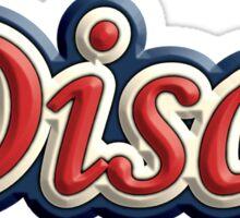 Disco 3 Colors Sticker