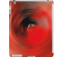 Reality Red - Abstract Art By Sharon Cummings iPad Case/Skin