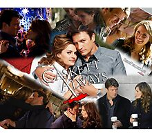 Caskett Always Photographic Print