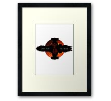 Can't stop the signal Framed Print