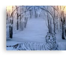 Winter Tiger Canvas Print