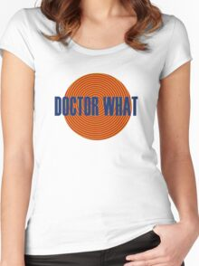 Doctor What Women's Fitted Scoop T-Shirt