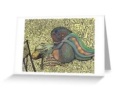 Grandmother Toad Greeting Card