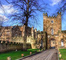 Durham Castle Gate by Tom Gomez