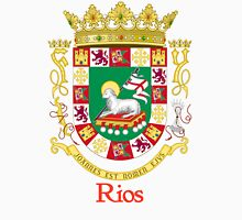 Rios Shield of Puerto Rico Unisex T-Shirt