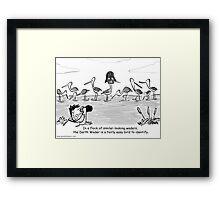 Darth Wader Framed Print