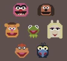 8-Bit Muppets Kids Clothes