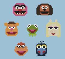 8-Bit Muppets One Piece - Short Sleeve