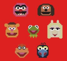 8-Bit Muppets Kids Clothes