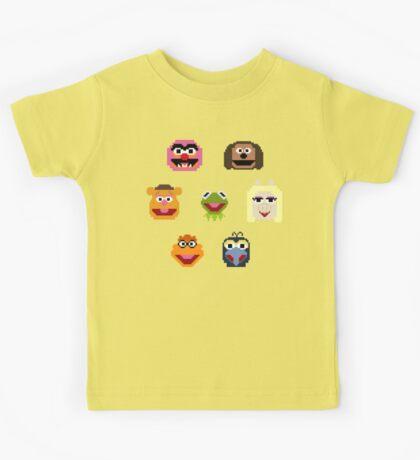 8-Bit Muppets Kids Tee