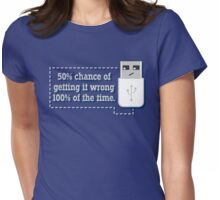 Against All Odds Womens Fitted T-Shirt