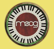 Vintage Old Moog  One Piece - Short Sleeve