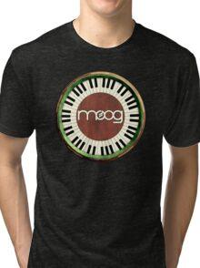 Vintage Old Moog  Tri-blend T-Shirt