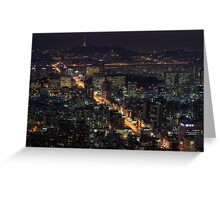 Seoul Flows Greeting Card