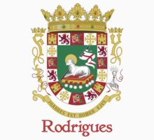 Rodrigues Shield of Puerto Rico One Piece - Long Sleeve