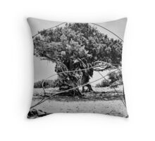 Greek Tree Throw Pillow