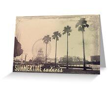 Vintage Summer Greeting Card