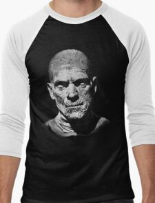 Mummy (1932) Design Men's Baseball ¾ T-Shirt