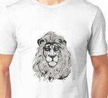 Lion's Portrait Unisex T-Shirt