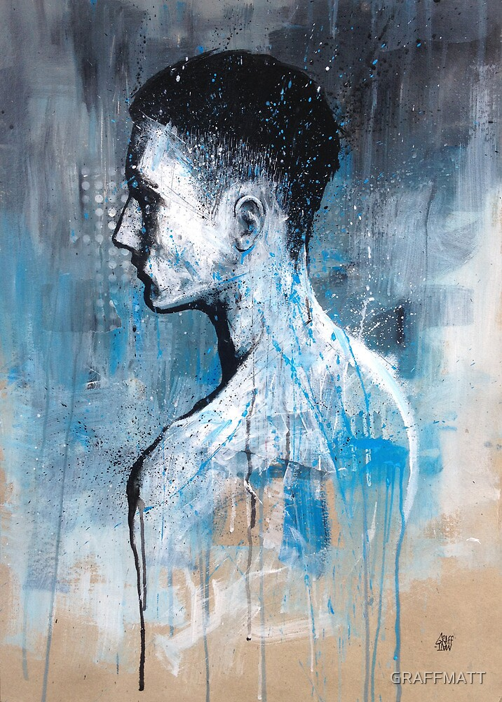 BEHIND HIM by GRAFFMATT