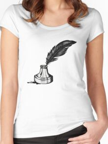Inkwell  Women's Fitted Scoop T-Shirt