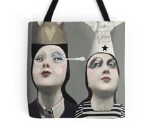 The Girls With Hats Tote Bag