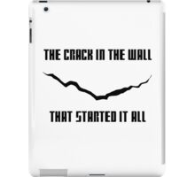 Doctor Who Crack Merch iPad Case/Skin