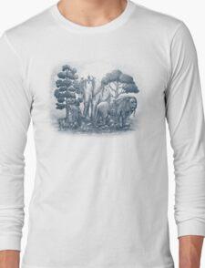 Midnight in the Stone Garden Long Sleeve T-Shirt