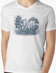 Midnight in the Stone Garden Mens V-Neck T-Shirt
