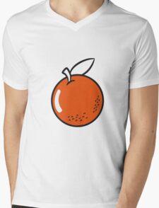 Orange fruit fruit natural Mens V-Neck T-Shirt