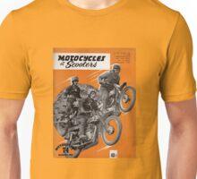 Vintage French Motorcycle Magazine  Unisex T-Shirt