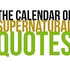 Supernatural Calendar by Laura (Explicit) by lauralaura