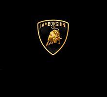 Lamborghini Logo Phone case by Riley MacNeil