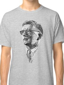 Shostakovich drawing in black and white Classic T-Shirt