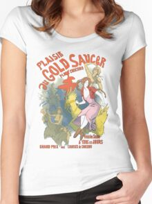 Plaisir au Gold Saucer Women's Fitted Scoop T-Shirt