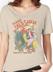 Plaisir au Gold Saucer Women's Relaxed Fit T-Shirt
